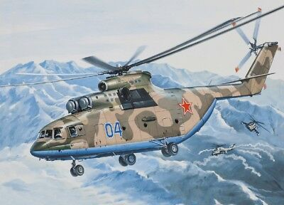 EASTERN EXPRESS 14502 Heavy Multi-Purpose Helicopter Mi-26 in 1:144