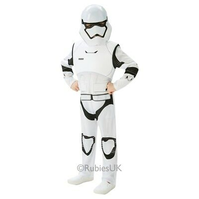 Rubies Offizielles Kind Star Wars Stormtrooper Deluxe Kostüm - Medium -