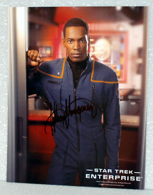 Anthony Montgomery STAR TREK ENTERPRISE AUTOGRAPH
