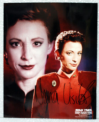 Nana Visitor STAR TREK DEEP SPACE 9 AUTOGRAPH