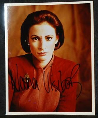 Nana Visitor (Kira) STAR TREK DEEP SPACE 9 AUTOGRAPH