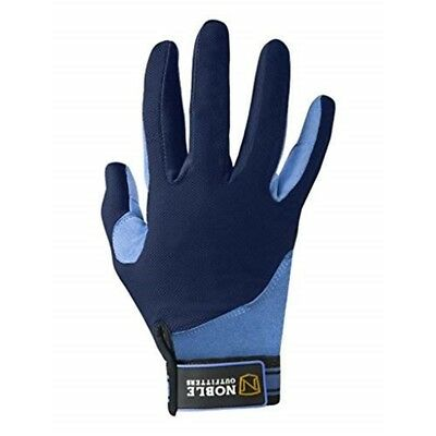 Noble Outfitters Perfect Fit Cool Mesh Glove - Navy/periwinkle - 7