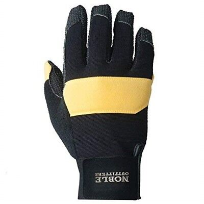 Noble Outfitters Hay Bucker Glove - Black/tan - Small
