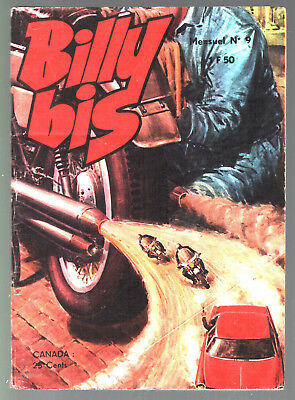 ~+~ BILLY BIS n°9 ~+~ 1973 jeunesse & vacances