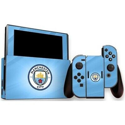 Official Man City Fc - Nintendo Switch (console & Controller) Skin
