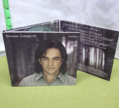 SYLVAIN COSSETTE Humain CD French-Canadian singer Paradox chanson 1999
