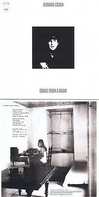 "Leonard Cohen ""Songs from a room"" 2. Werk! Von 1969! ""Bird on the wire""! Neue CD"