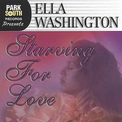 Ella Washington / Starving for Love (LIKE NW CD Promo) The Affair, All The Time
