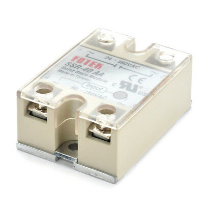Solid State Relay SSR-40AA 40A AC Relais 80-250V TO 24-380VAC AC SCHK