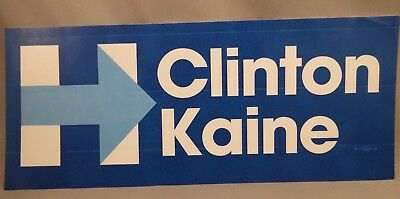 Wholesale Lot Of 10 Hillary Clinton Tim Kaine Bumper Stickers President 2016 Usa