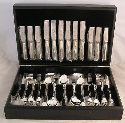 OLD ENGLISH Design SHEFFIELD Silver Service 129 Piece Canteen of Cutlery