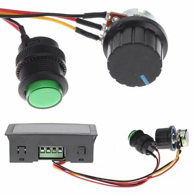 DC Motor Speed Controller PWM with Infrared Remote and Digital Display