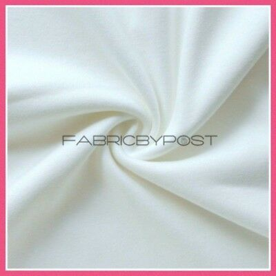 New Plain White 100% Cotton Fabric Sheeting Material Craft Quilting Dressmaking
