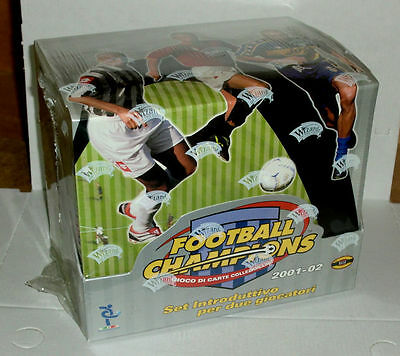 Football Champions 2001 2002 Set Base 8 Bunches Box Complete New