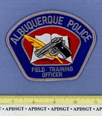 ALBUQUERQUE FTO FIELD TRAINING OFFICER NEW MEXICO Sheriff Police Patch QUILL PEN
