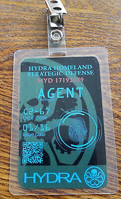 Agents Of Shield ID Badge - Hydra Agent cosplay prop costume