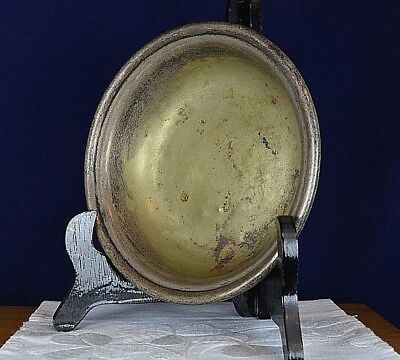 Antique Silver Plated Bowl Dish Plate Harrison Fisher EPNS 1890s Old Vintage