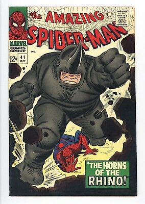 Amazing Spider-Man #41 Vol 1 Almost PERFECT High Grade 1st Appearance of Rhino