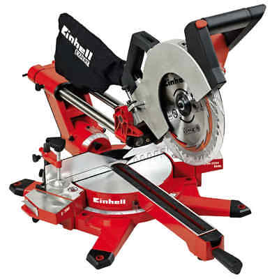 Einhell Scie à onglet coulissante TE-SM 2534 Dual radiale multi-usages 1800 W
