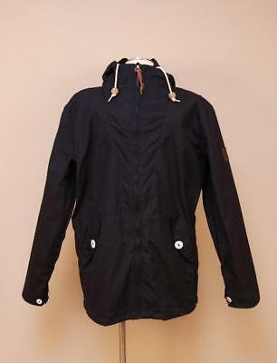 $150 Men's Penfield Gibson for JCrew Collab Hooded Jacket XL Navy Blue Rain Coat
