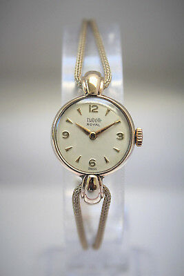 TUDOR by ROLEX - SOLID GOLD LADIES DECO VINTAGE WATCH - BEAUTIFUL! - NO RESERVE!