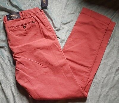 POLO by RALPH LAUREN 'Stretch Slim Fit' Chinos Size: W 36 L 34 NEW WITH TAGS