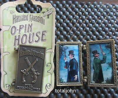 Disney DLR - Haunted Mansion O'Pin House: Duel Personalities Pin Duelers