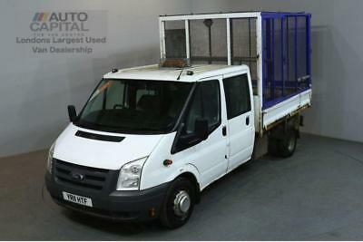 2.4 350 100 Bhp Lwb  D/cab Twin Wheel Cage Combi Tipper 2011