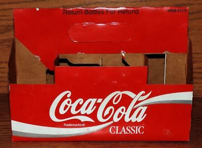 1993 USA COCA-COLA CLASSIC 8pk 6.5 oz COKE BOTTLE CARDBOARD CARTON CARRIER