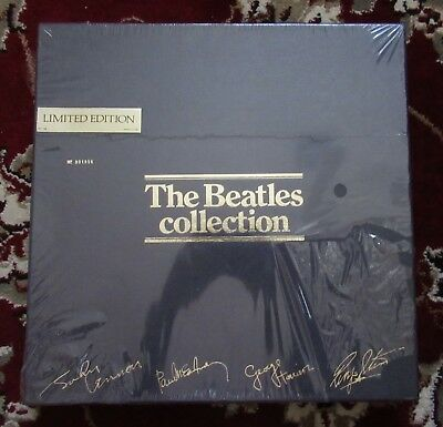 Beatles 1978 US BEATLES BLUE BOX SET OF 14 ALBUMS SEALED WITH BOTH GOLD STICKERS