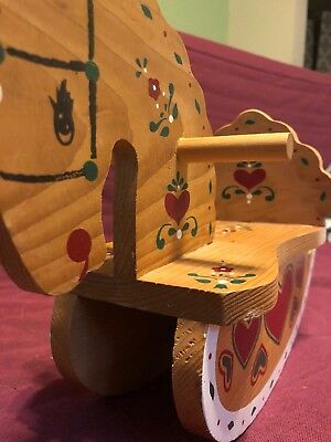 Miniature Painted Rocking Horse