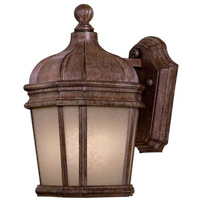 "The Great Outdoors 8690-1-61-PL 1-Light 11.5"" Height Fluorescent Outdoor Sconce,"