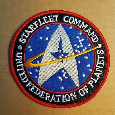 Star Trek Starfleet Command United Federation Of Planet Uniform Patch 4 inches
