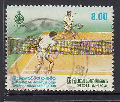 SRI LANKA 1990  8r 75th Anniv. Mens Tennis FINE USED