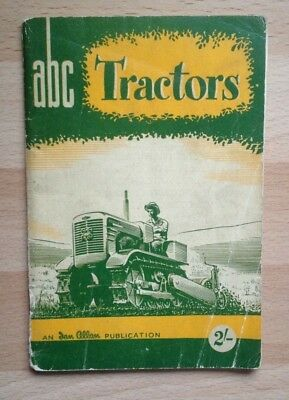 "Vintage 1953 ""ABC Tractors"" Cute Little Book by John Dudley, Ian Allan"