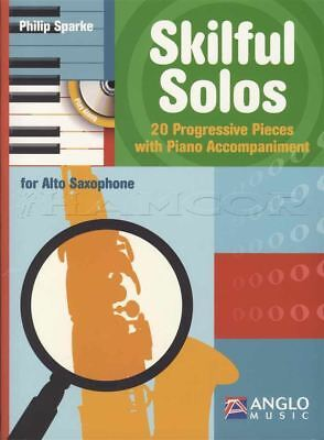 Skilful Solos for Alto Saxophone Sax Sheet Music Book with CD