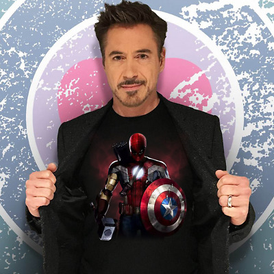 Avengers End Game New Marvel Movie Avengers 4 2019 Shirt Size S-5XL