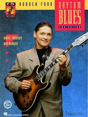 Robben Ford Rhythm Blues for Guitar TAB & Chord Music Book/CD Funky Shuffle Slow