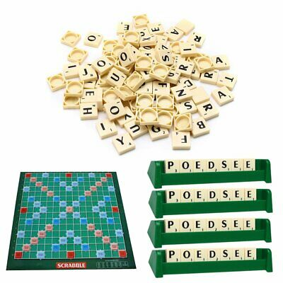 Scrabble Board Game Family Kids Adult Educational Toys Puzzle Games UKAC