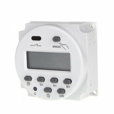 CN101A DC12V Digital LCD Power Programmable Timer Time Switch Relay 16A