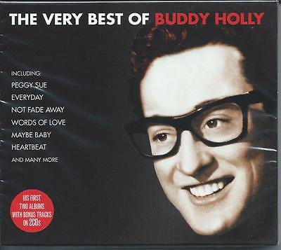 Buddy Holly - The Very Best Of - Greatest Hits 2CD NEW/SEALED
