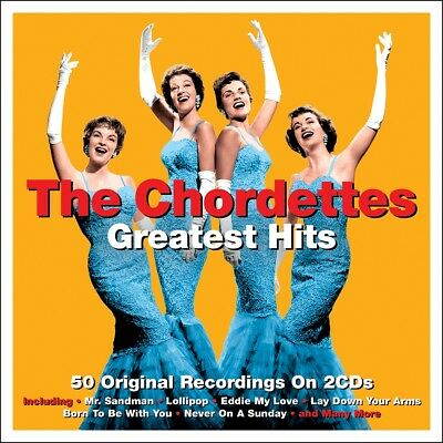 The Chordettes - Greatest Hits - The Best Of 2CD 2015 NEW/SEALED