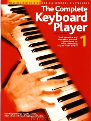 The Complete Keyboard Player Book 1 Kenneth Baker Learn How to Play Tutor Method