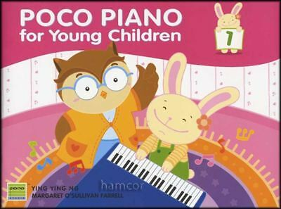 Poco Piano for Young Children Book 1 with Stickers Learn to Play Kids Method