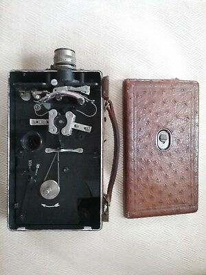 ^ Kodak Antique Vintage Model B 16Mm Movie Camera *runs!* 282