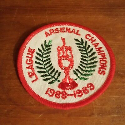 Arsenal 1988-89 League Champions Sew On Patch