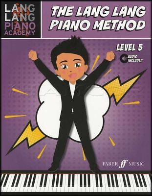 The Lang Lang Piano Method Level 5 Sheet Music Book with Audio Learn How To Play
