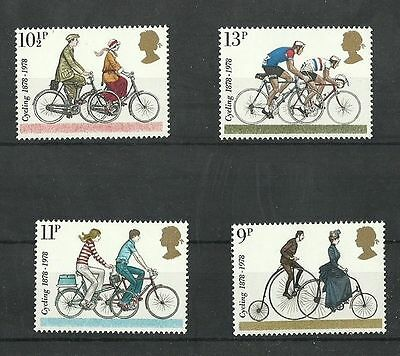 Great Britain 1978 Cycling  MNH