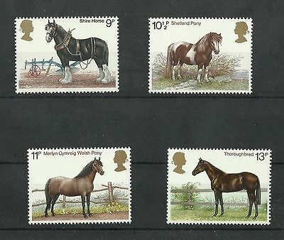 Great Britain 1978 Horses  MNH