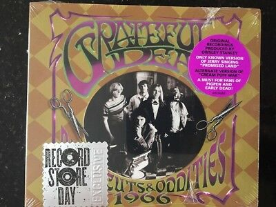 Grateful Dead Rare Cuts And Oddities 1966 Record Store Day CD Digipak New Sealed